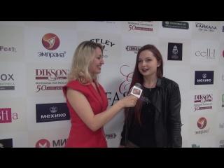 """Интервью модели Настасьи Ржевской на Estet Fashion Week - """"TV SHANS"""""""