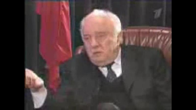 Эдуард Шеварднадзе о Хамзате Гелаева.