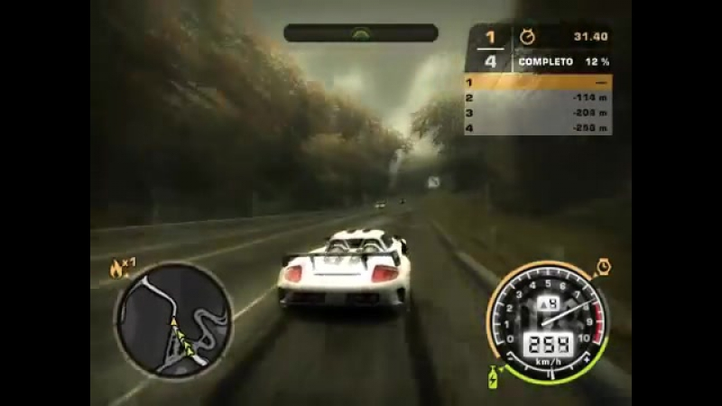 Need For Speed: Most Wanted — Porsche Carrera GT — Sprint