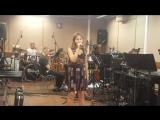 Снежана Шин на репетиции финала ГолосДети-4