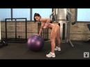 Голый спорт фигуристые девушки делают упражнения от Playboy эротика