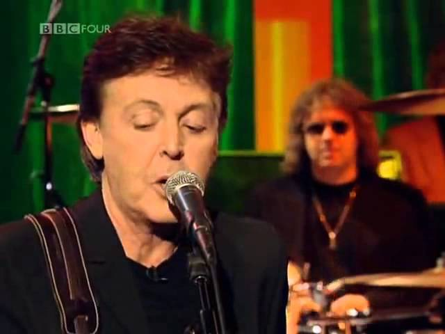 Paul McCartney All Shook Up