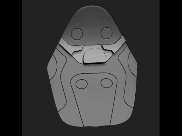 Zbrush - Hard Surface - Part 4