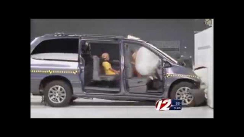 Что происходит с детьми в машине во время аварии