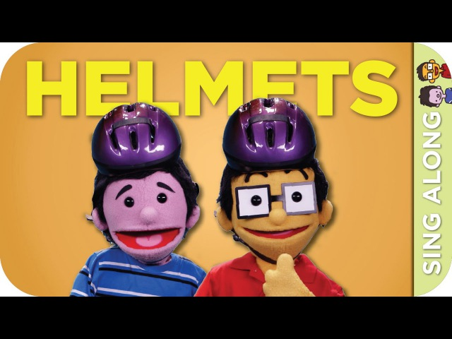 THE HELMET SONG Sing Along | The FuZees Eps 13