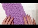Вязание шарфа Вязание спицами Как связать шарф