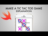 How To Make A Tic Tac Toe Game In Xcode 8 (Swift 3.0) - Explanation