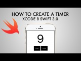 How To Create A Timer App In xCode 8 (Swift 3.0)