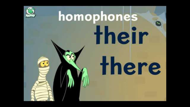 Nessy Spelling Strategy Homophones