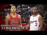 Derrick Rose vs Chris Paul NASTY PG Duel 2011.12.31 - CP With 15, 14 Ast, MVP Rose With 29, 16 Ast!