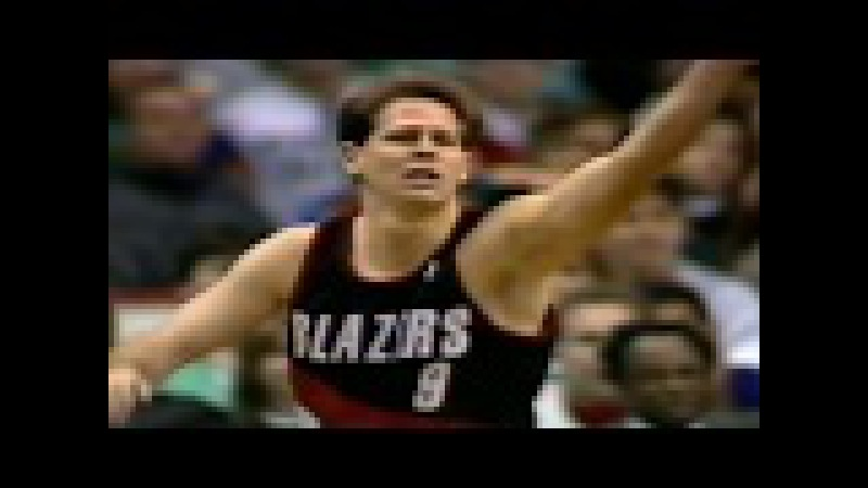 Danny Ainge Amazing Assist ● Portland Trail Blazers 148:152 Boston Celtics ● NBA 15/03/1992