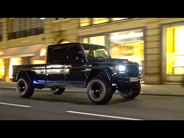 Mercedes G500 XXL by GWF in London | Huge Custom Gwagon!