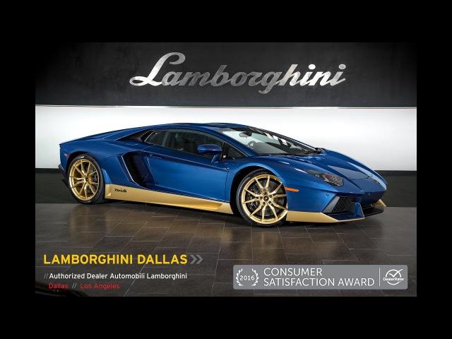 Lamborghini Aventador Miura Homage Blu Notte