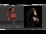 Marshall Headphones Visualization - Making Of