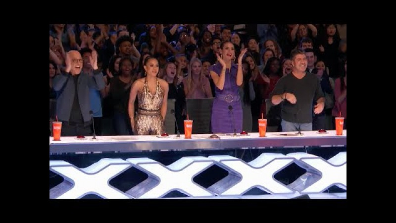 Twin Magicians Shocks Everyone With Their Never Seen Tricks | Week 3 | America's Got Talent 2017