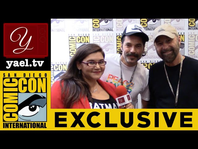 Tim Rozon Comic Book Creator Beau Smith - Wynonna Earp - SDCC 2016 | yael.tv