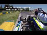 On board with Matteo Zanchi KZ2 Tony Kart/TM - Castelletto di Branduzzo