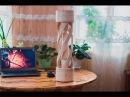 Витая ножка для стола из дерева. Twisted leg for table from wood - YouTube