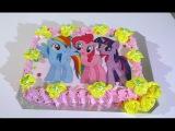 Торт Май Литл Пони  Кремовые торты для детей Cake My Little Pony