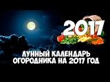 Лунный (посевной) календарь огородника и садовника на 2017 год