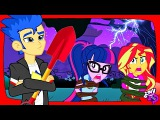 My little pony MLP Equestria girls transformation with animation like the scary story Flash kidnaps