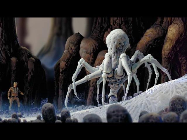 Star Wars - Ralph McQuarrie Animated Tribute 3 - Luke on Dagobah (Moho Pro 12 ) [1080p]