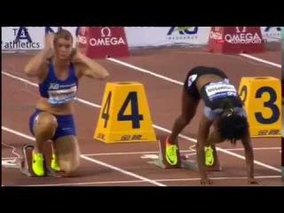 Elaine THOMPSON wins 100m - Brussels Diamond League 2016