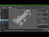 Независимая подвеска автомобиля в unreal engine 4