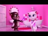 Мой ГОВОРЯЩИЙ ТОМ #3 Весёлое видео  Мой виртуальный питомец   ИГРА МУЛЬТИК для дет...