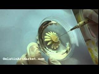 ( https://vk.com/lakomkavk) How to make Gelatin Art Jello Flowers