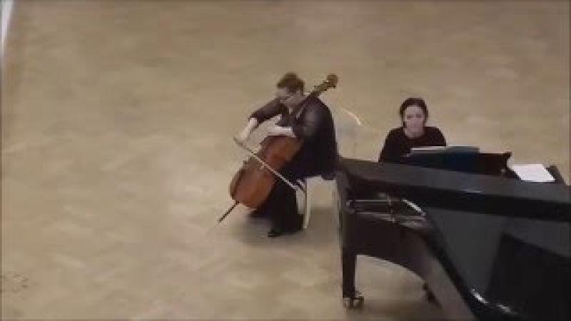 A.Dvorak Cello Concerto in B minor Op. 104 Ekaterina Zaplakhova