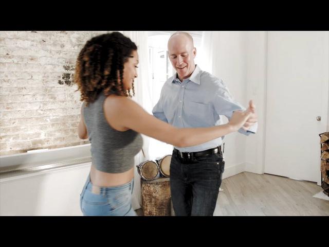 How To Dance Bachata : TRIPLE STEP (cha-cha)