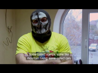Russia's Hooligan Army Thugs threaten war with England fan