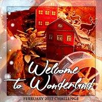"Завдання-натхнення лютого ""Welcome to Wonderland"" Olesya Kharkova"