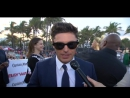 Zac Efron at the Baywatch World Premiere in Miami Courtesy of - YouTube