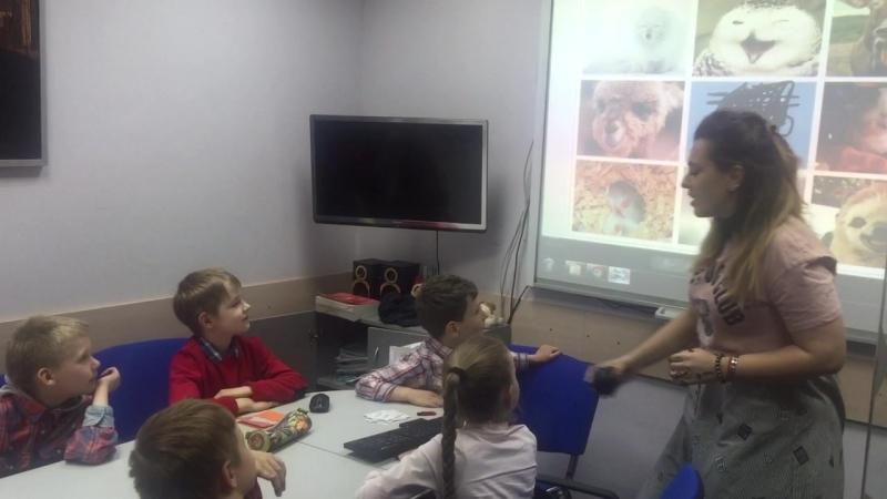 Открытый урок китайского языка с детьми которые занимаются 9 месяцев.
