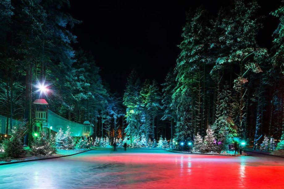 Необычный каток под Санкт-Петербургом появился на горнолыжном курорте