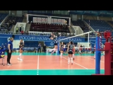 Разминка перед матчем  Динамо Казань - Протон