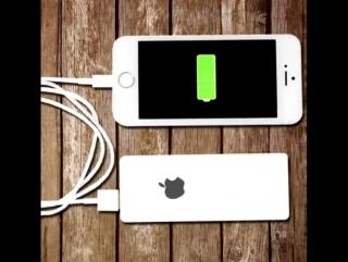 iCharger - хватает на 12 полных зарядов вашего устройства!🔥