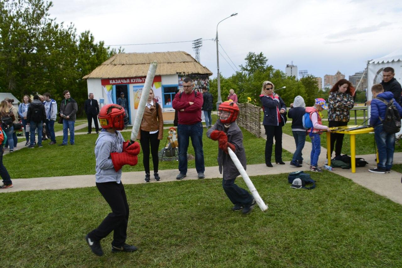 праздник на Воробёвых горах - мастер-класс по фихтованию
