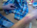 Рубашка в клетку крой и пошив