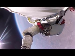 Прыжок из с 40км с камерой GoPro