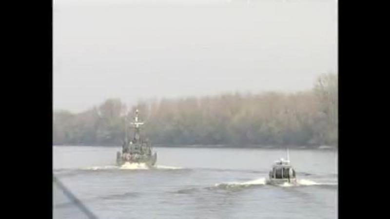 ВЕНГРИЯ MH 1 Tűzszerész És Hadihajós Zászlóalj Folyami Felderítési Gyakorlata 2007