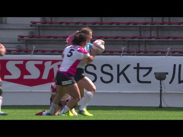 Womens 7s Kitakyushu 2017 Russia vs Japan