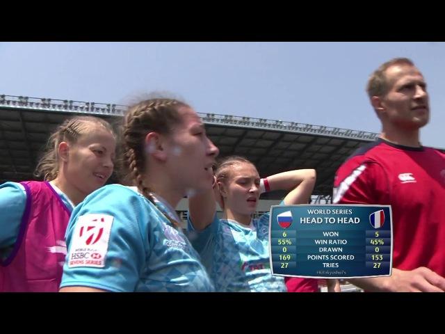 Womens 7s Kitakyushu 2017 Russia vs France