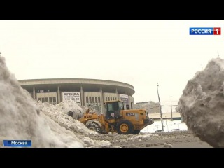 Вести.Ru: Аварии на дорогах и горы снега: в Москве выпала месячная норма осадков