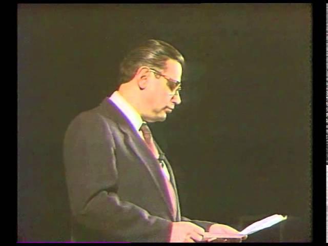 Е. Петросян - интермедия Бестолковыи Словарь (1989)