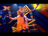 Группа Без Обмежень. American Women - Lenny Kravitz. Х-фактор-7. Второй прямой эфир