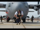 Worlds Strongest Man Epic C-130 Hercules Plane Pull USA vs POLAND