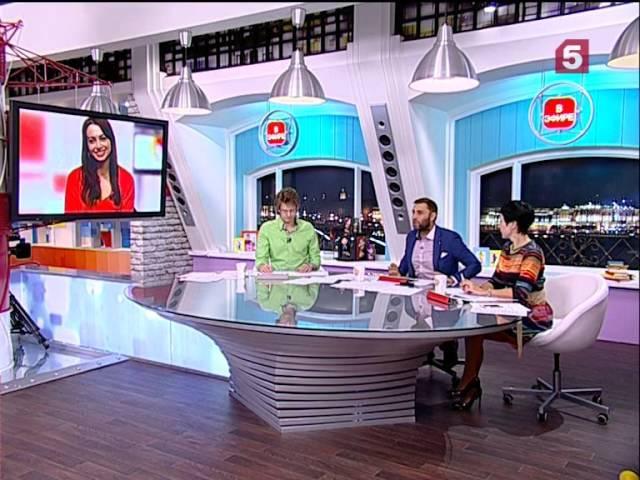 Анжелика Каширина в программе Утро на 5. 8.12.2014